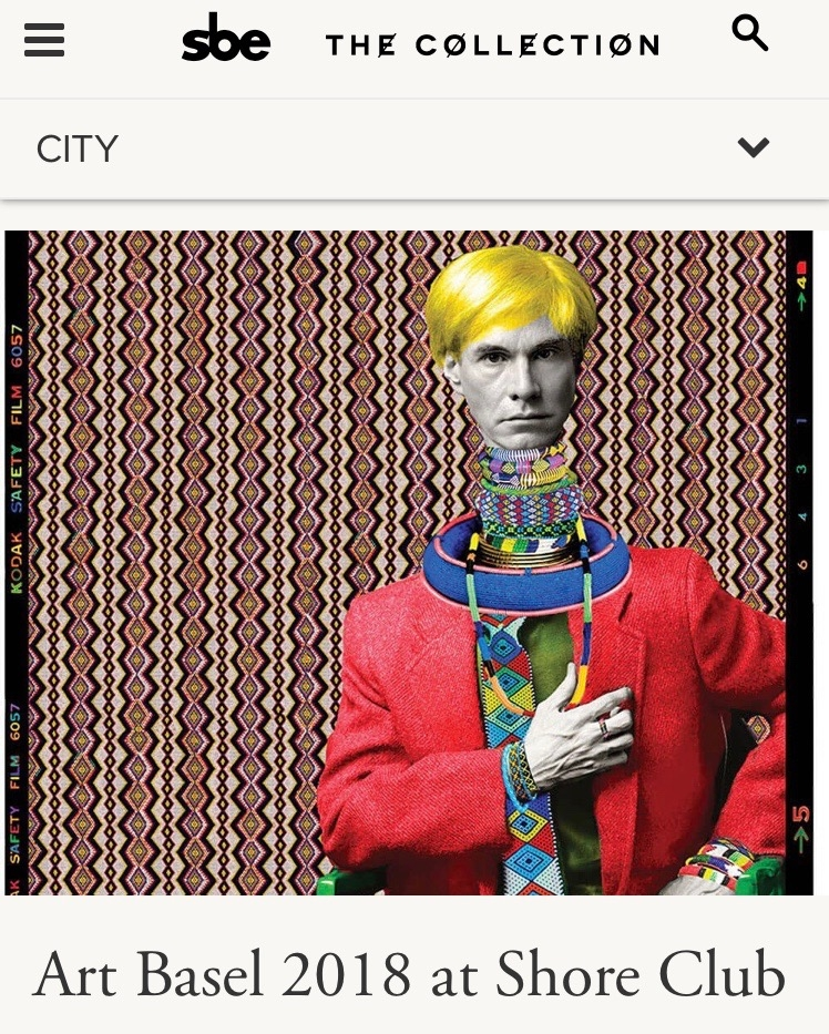Exhibiting The Lost Warhol Art Collection.    This collaboration Ralph Ziman x Karen Bystedt