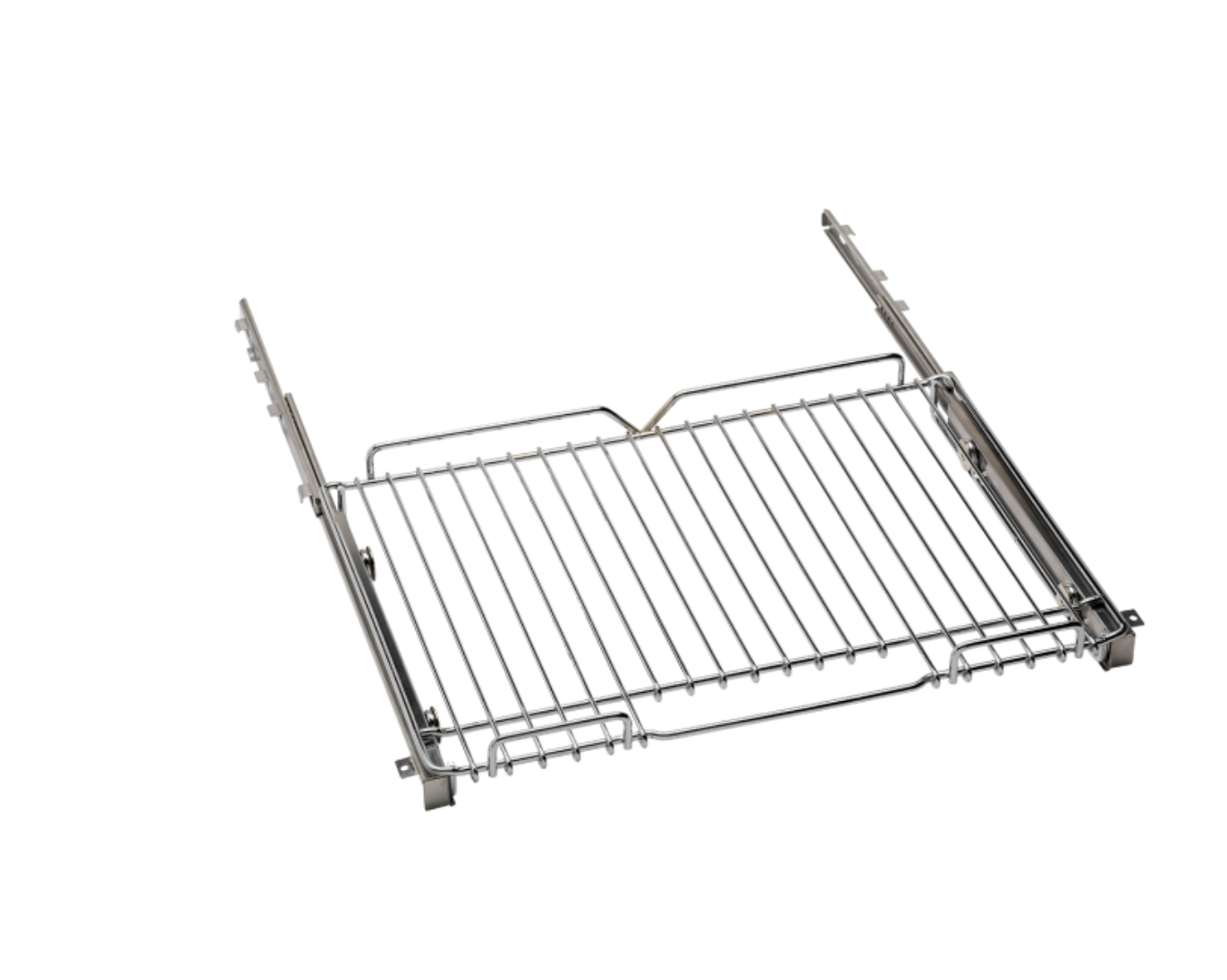 Two telescopic glide shelves - Telescoping oven rack fully extends for easy loading, unloading, basting, and turning. Telescopic rack won't tip, keeping even the heaviest dish secure. Ball bearing rack guides assure smooth performance High-quality stainless steel design make for easy cleaning.