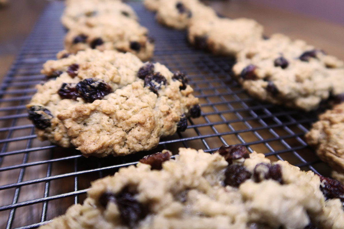 oatmeal & raisin cookie recipe