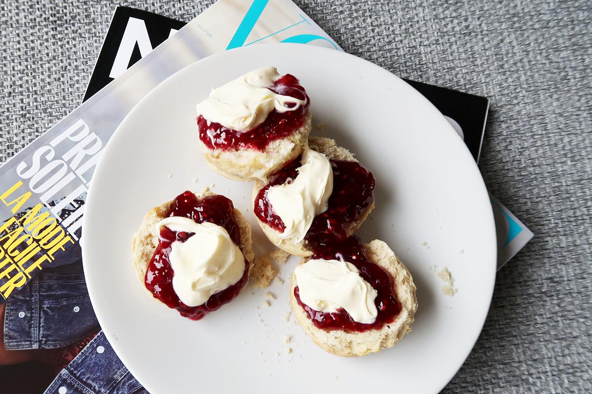 simple english scones recipe with raspberry jam and clotted cream 8.jpg