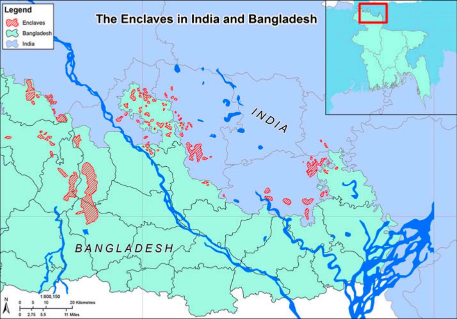 Map via Hosna J. Shewly