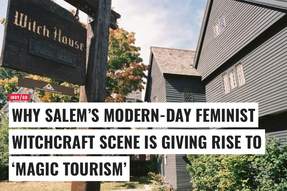 """Independent.co.uk   Salem's """"Magic Tourism"""""""