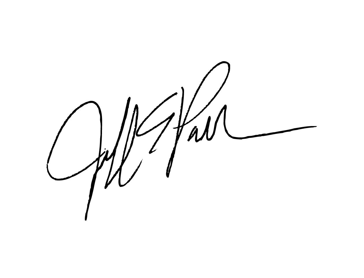 Jeff Parker signature.png