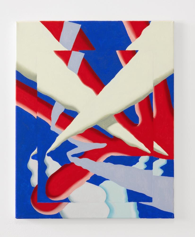 "Man Hand. Oil and acrylic on canvas. 16 x 20"". 2018."