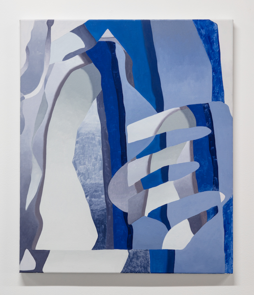 "Looker. Oil on canvas. 20 x 24"". 2019."