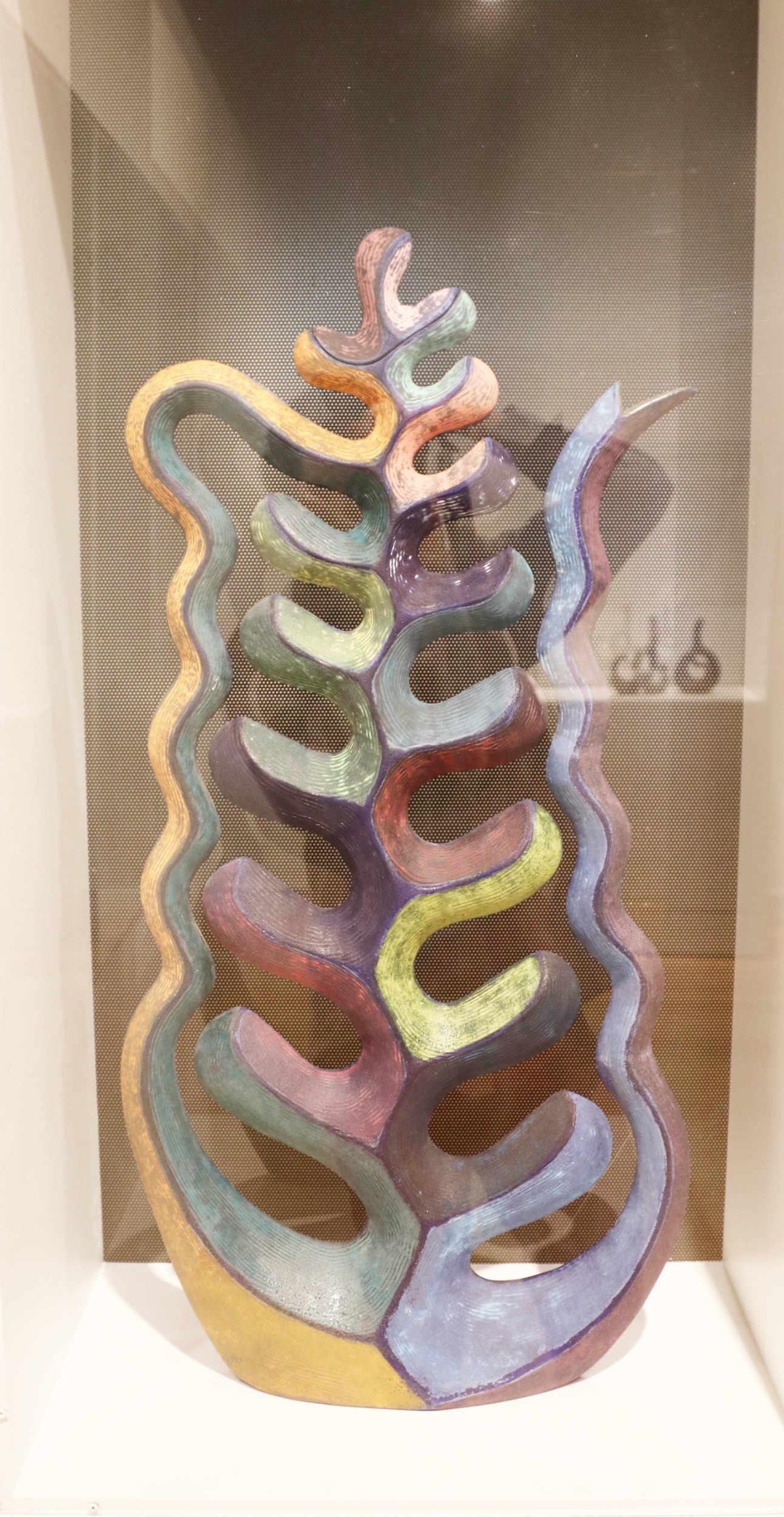 Michael Sherrill, Solomon's Seal. 1997. Stoneware, barium glaze.