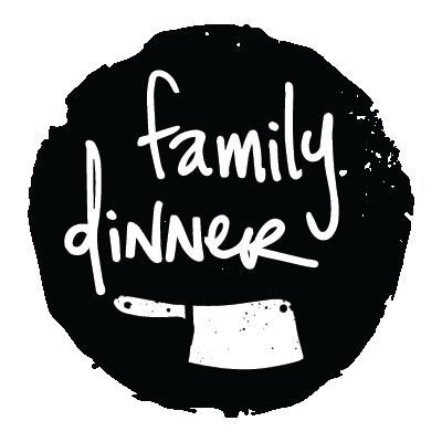 Branding for local Boston farm share    Family Dinner     .