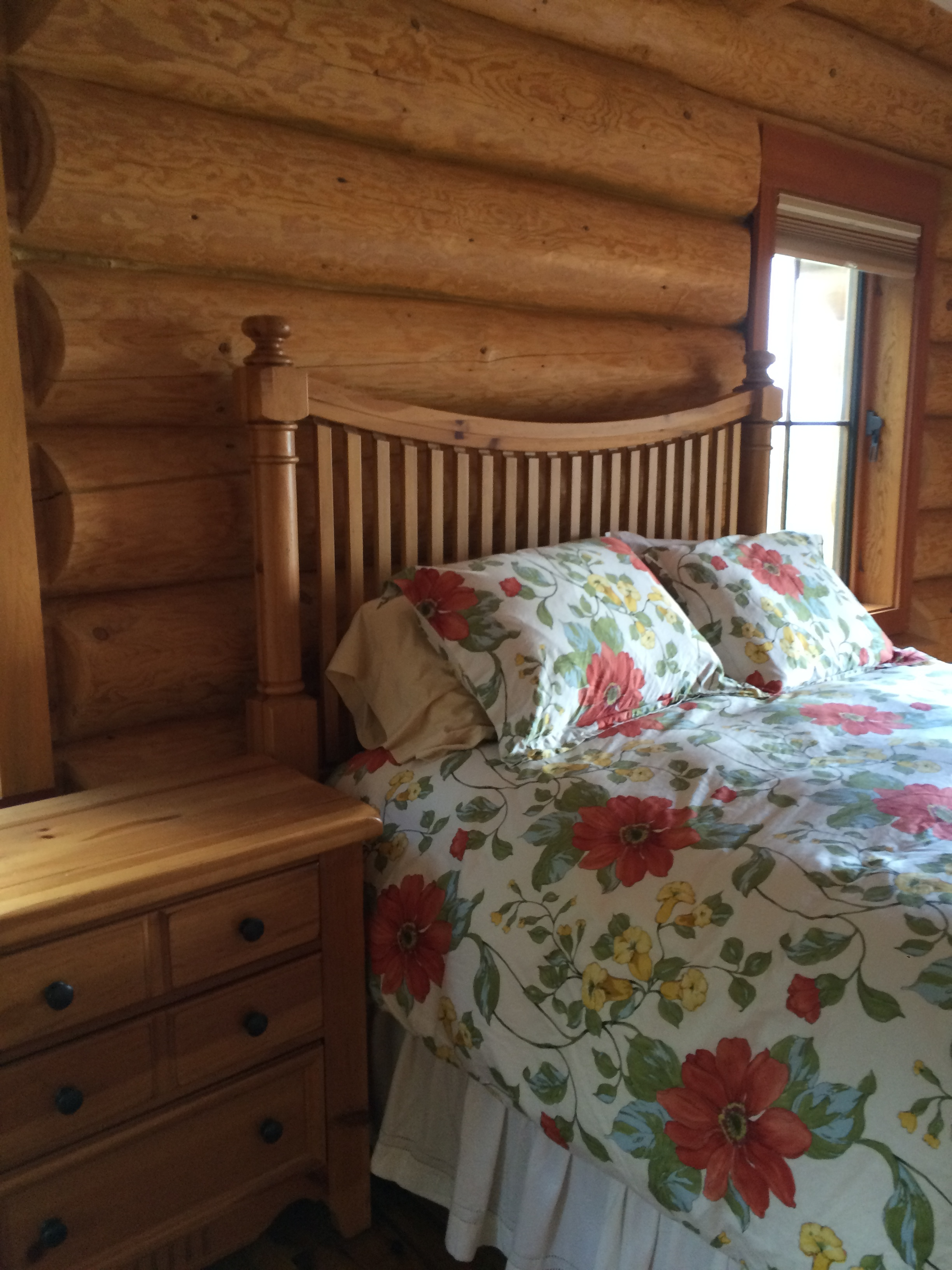 Mountain House Master Bedroom-Before