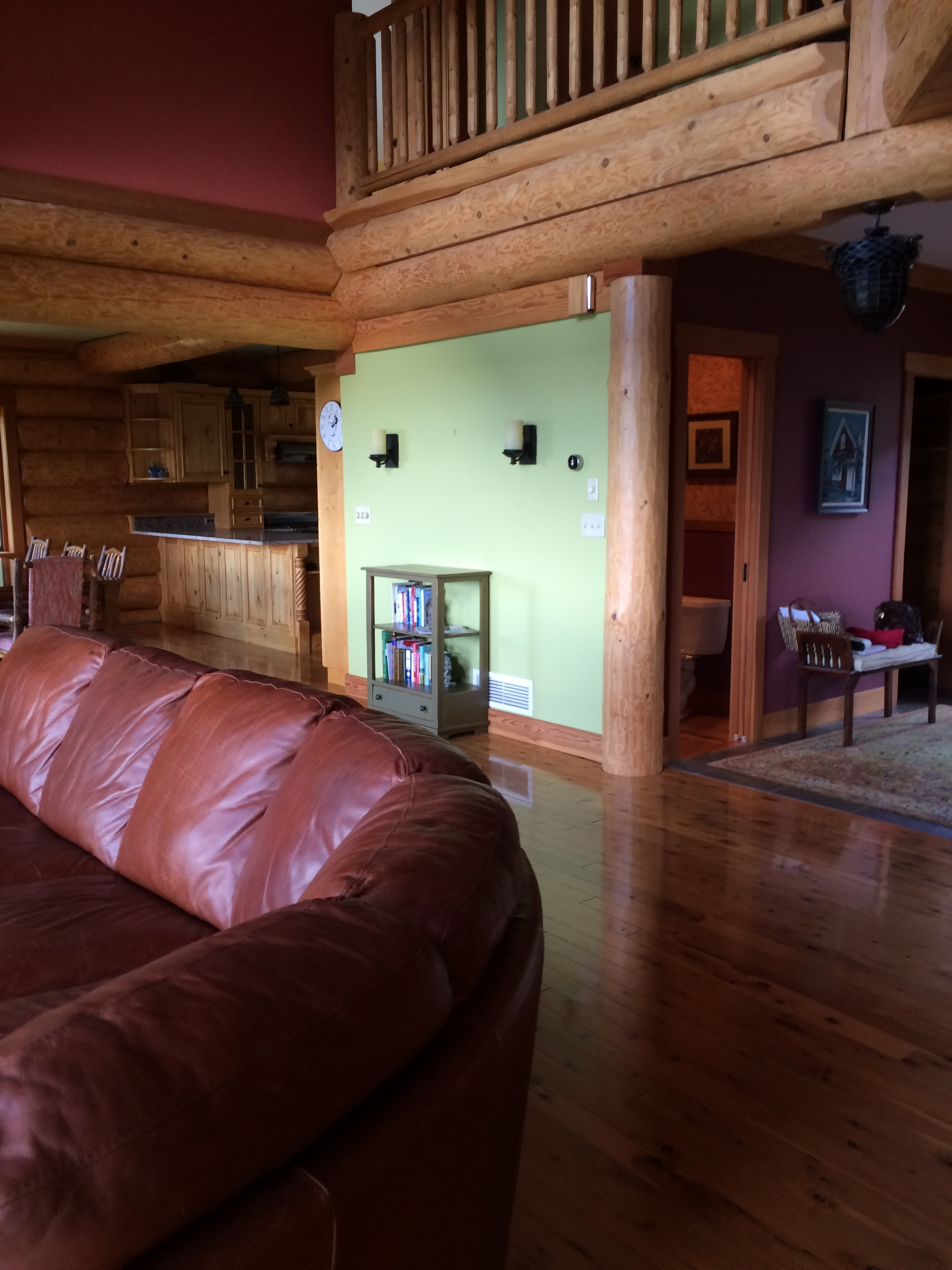 Mountain House Living Room-Before