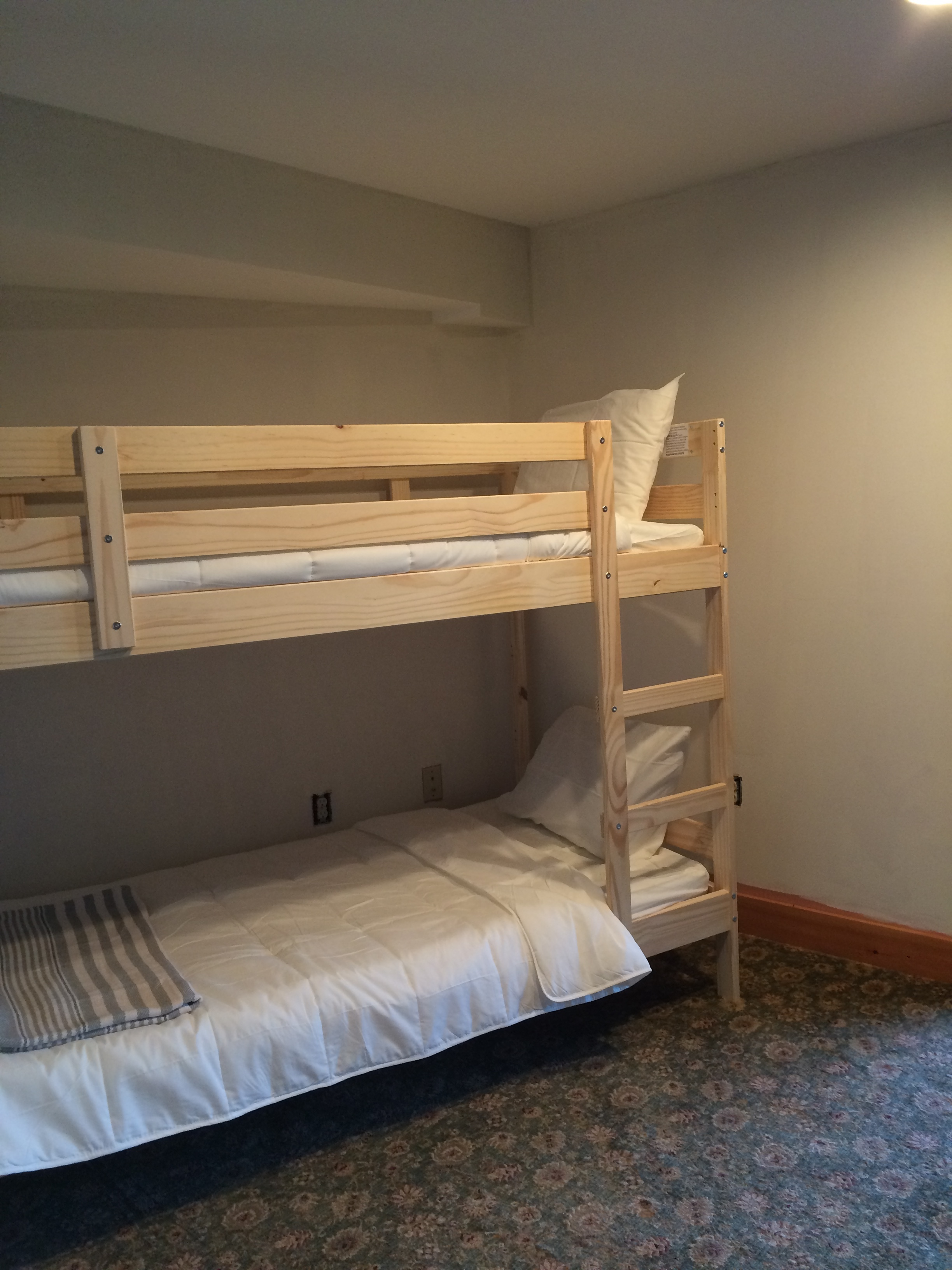Mountain House Bunk Room-After