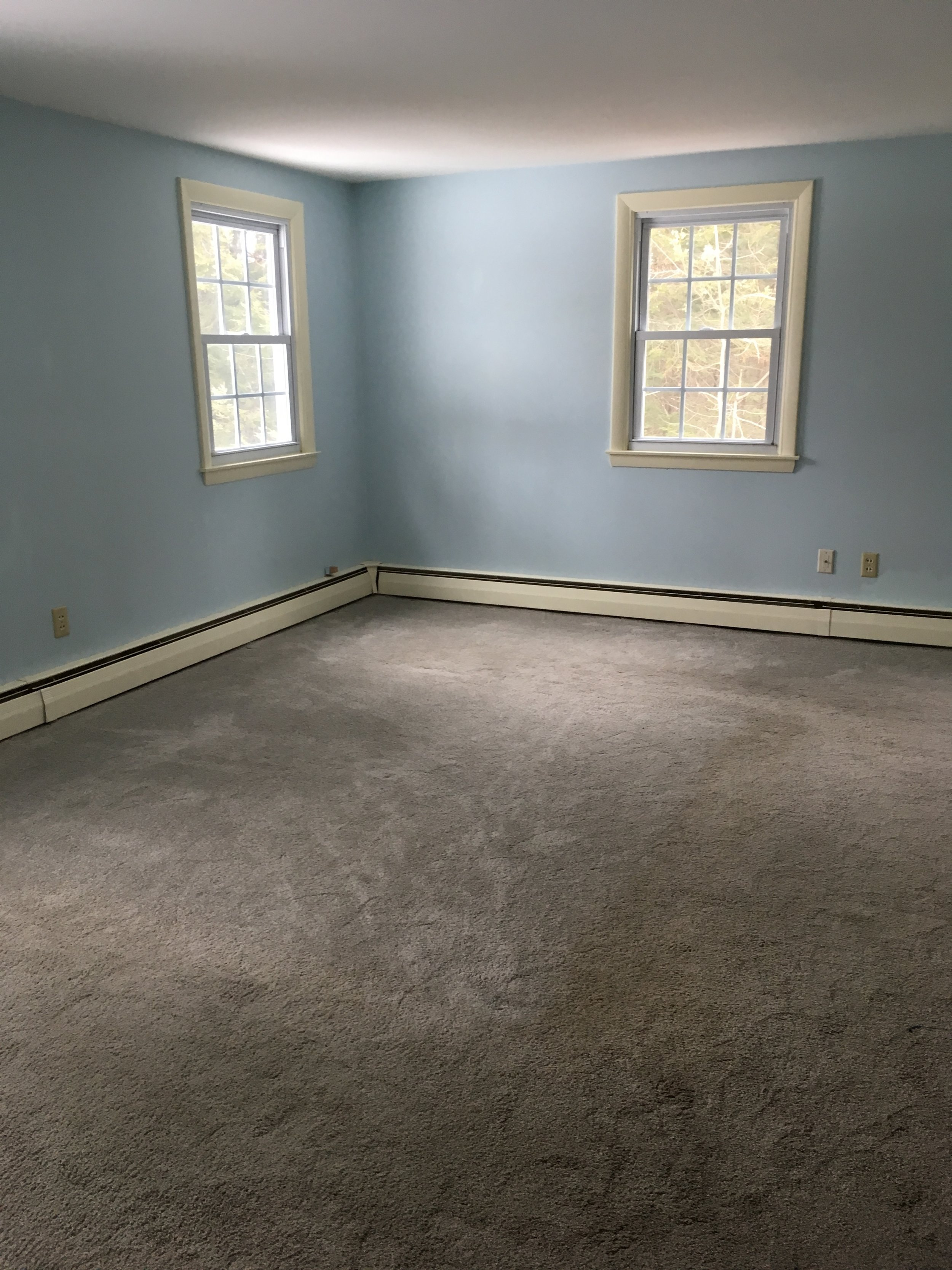 New London Cape Master Bedroom-Before