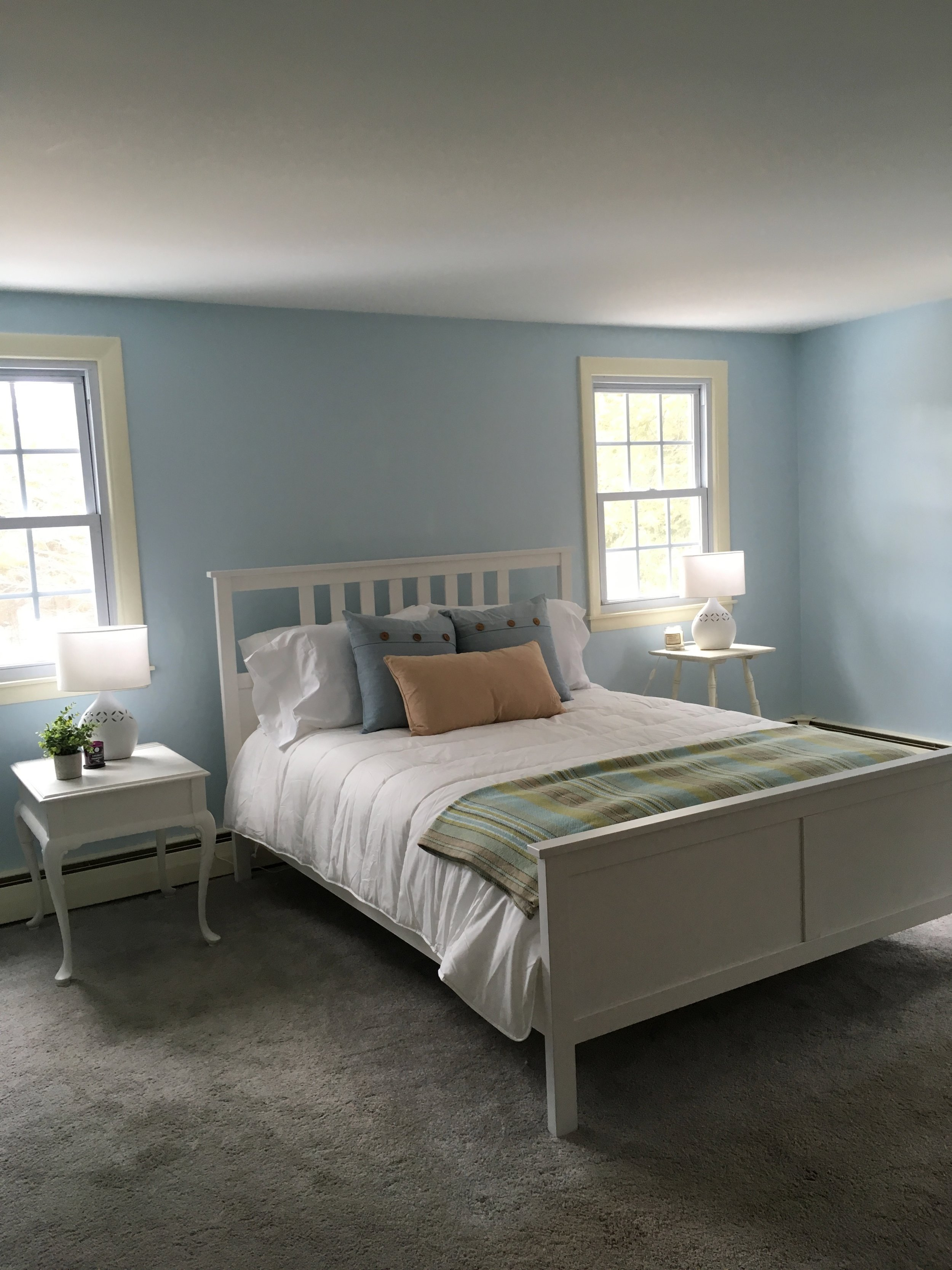 New London Cape Master Bedroom-After