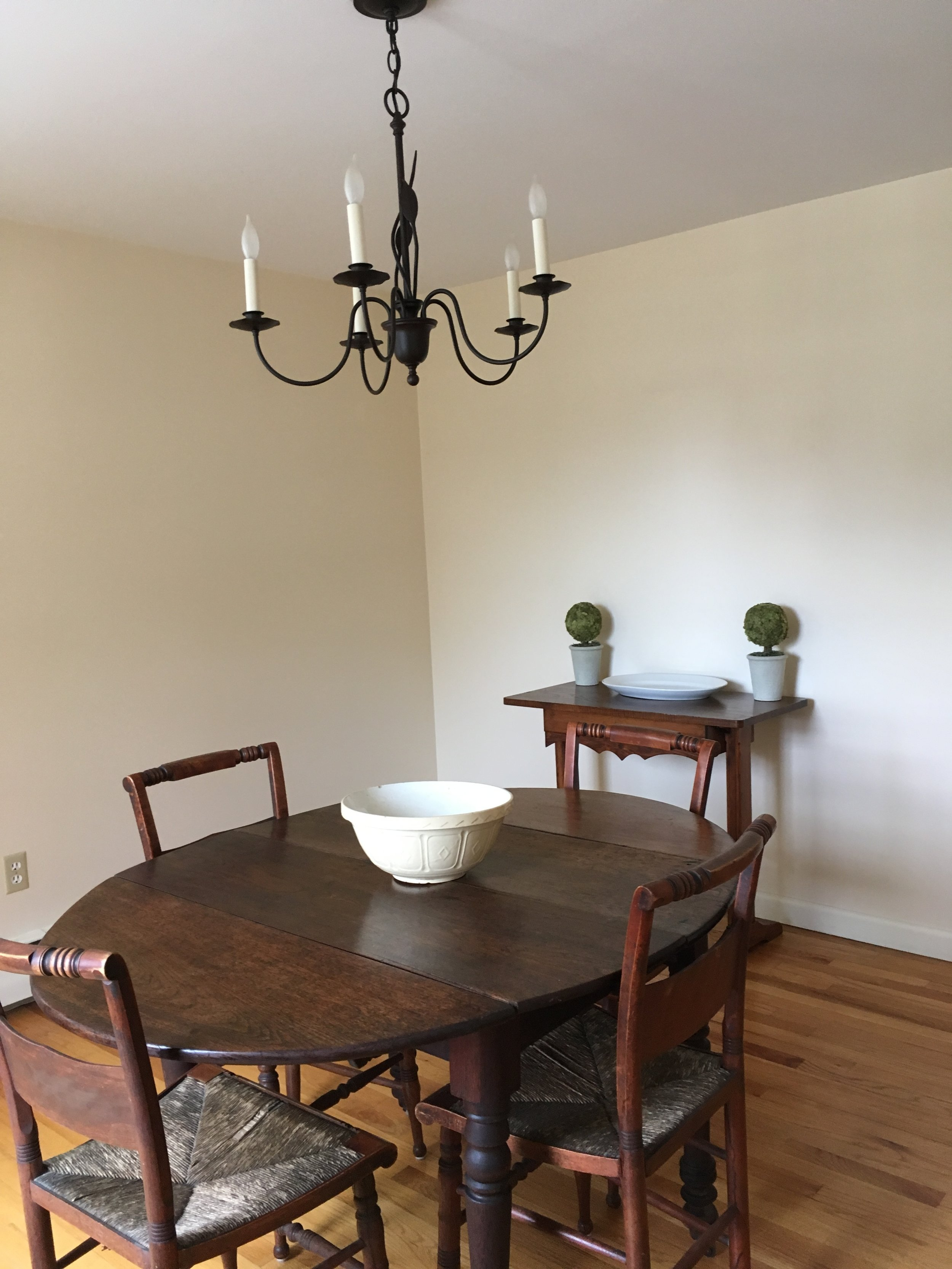 New London Cape Dining Room-After
