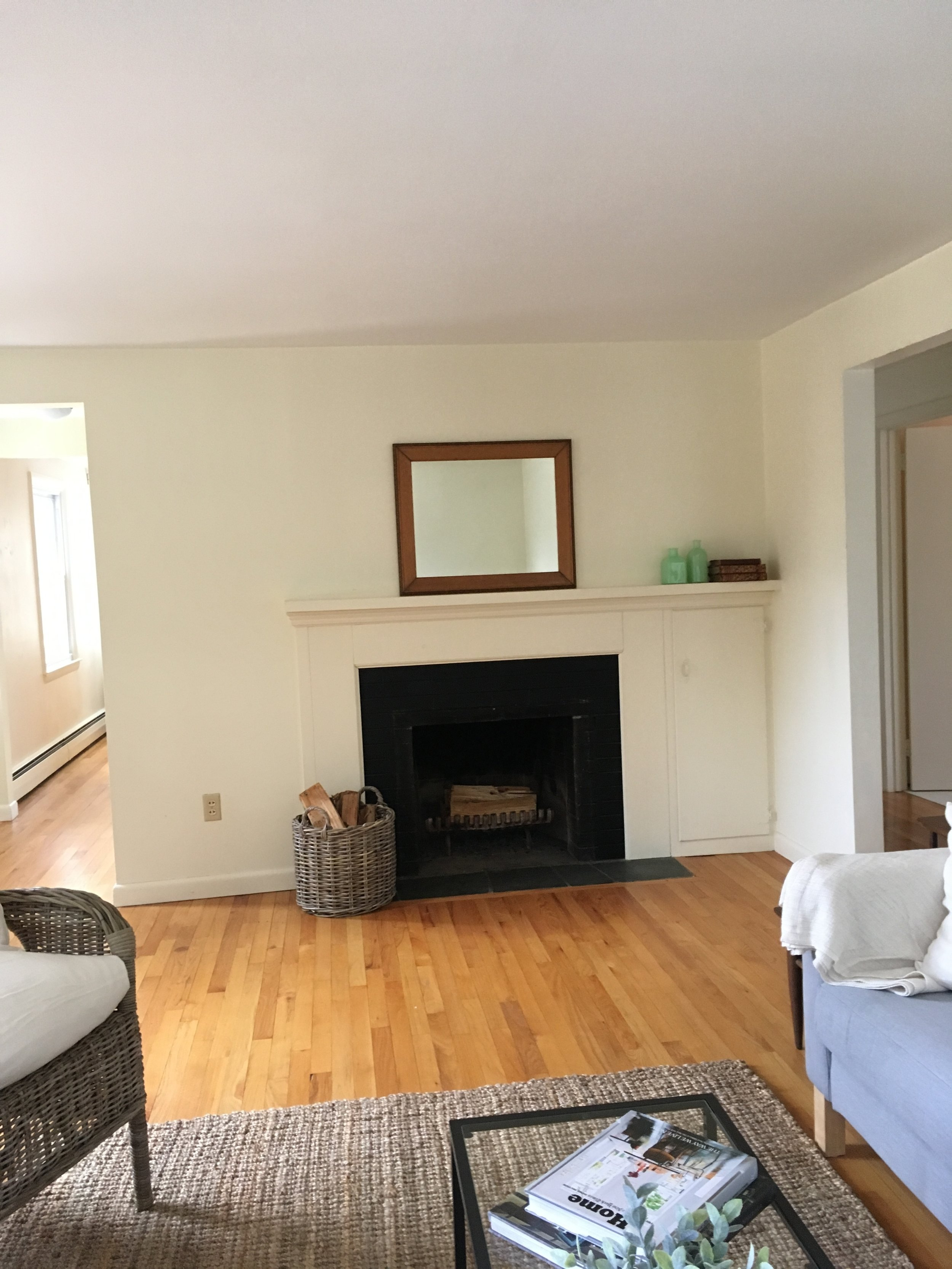 New London Cape Living Room-After