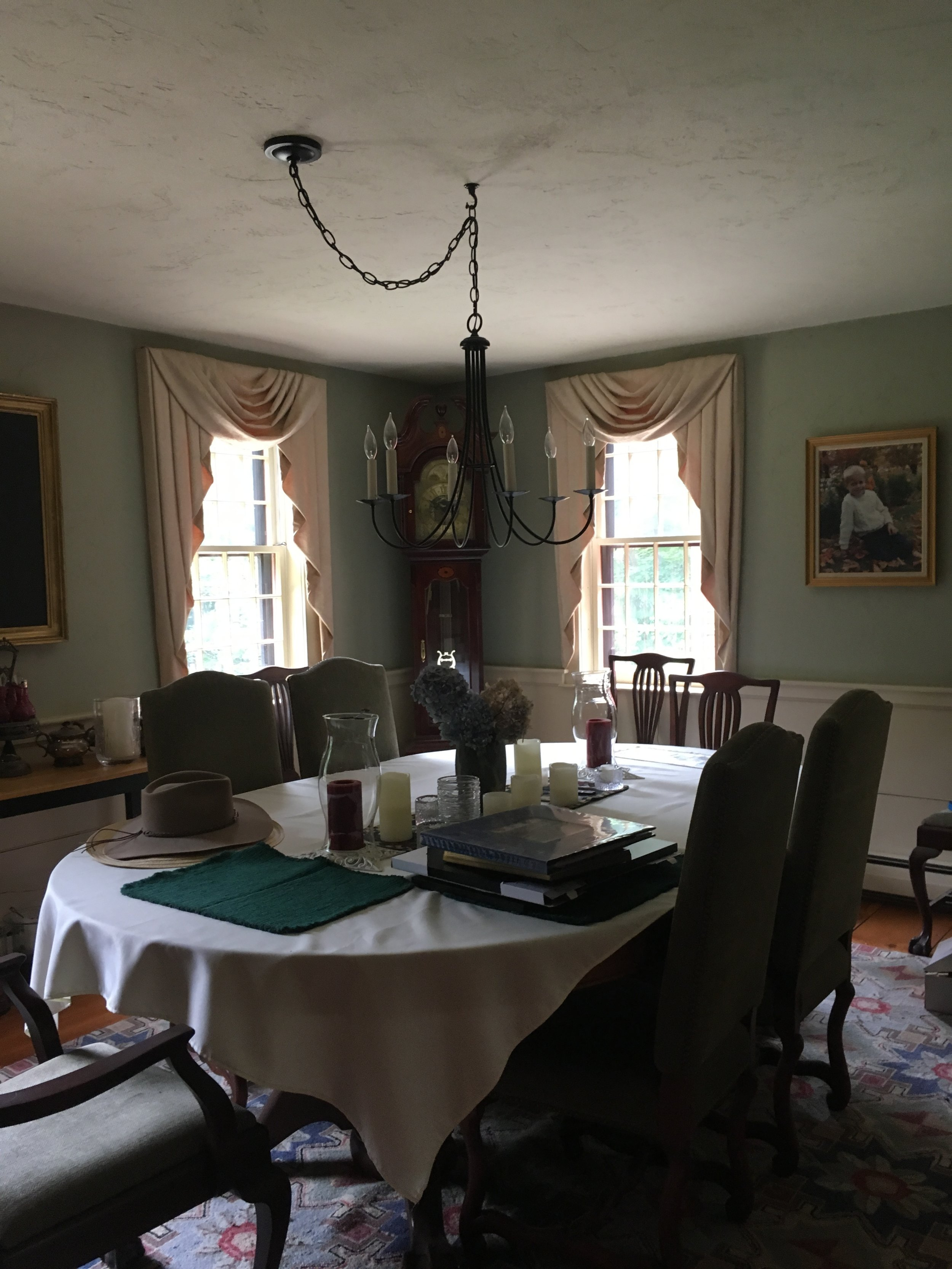 Sutton Cape Dining Room-Before