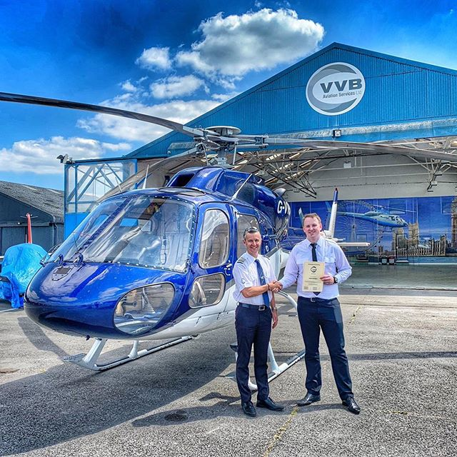 A massive congratulations to @inhynessight on passing his Instrument Rating! A great achievement! ☁️🚁👏