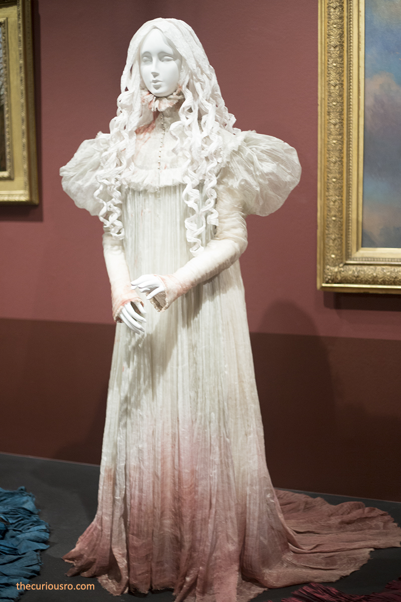 Display of the exact nightgown from the film