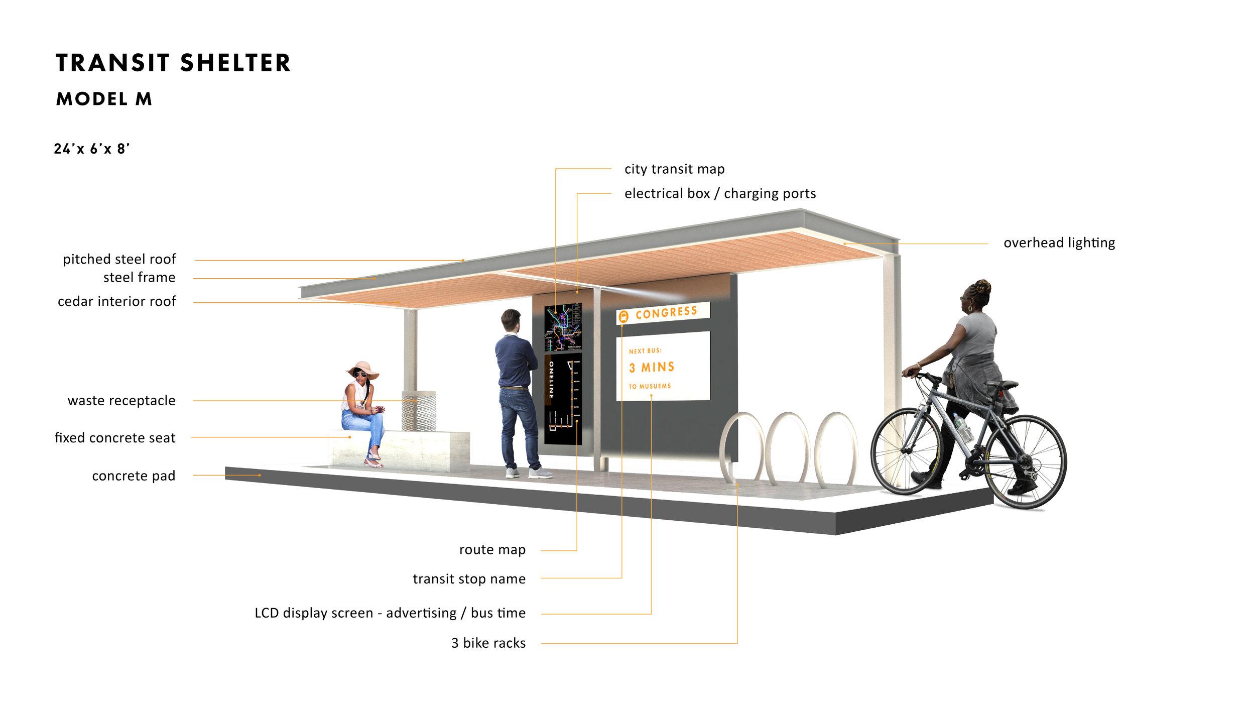 Re-imaging Transit! - City of Jackson conceptual transit shelter design