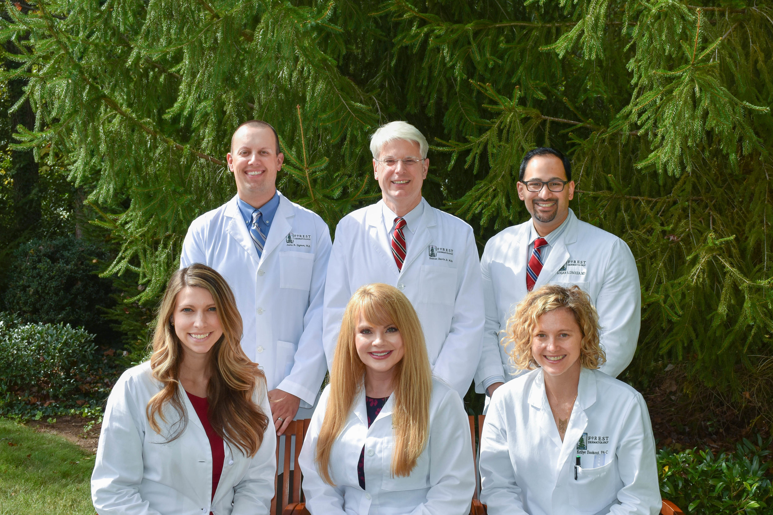 Group Photo of Team at Forest Dermatology