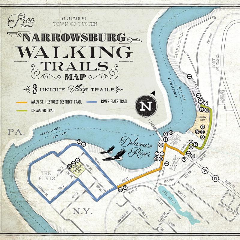 Narrowsburg Walking Trails in in Narrowsburg, NY