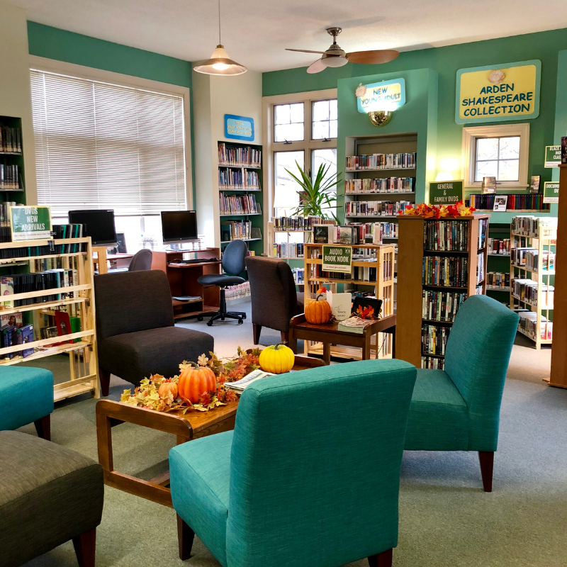 Western Sullivan Public Library in Narrowsburg, NY