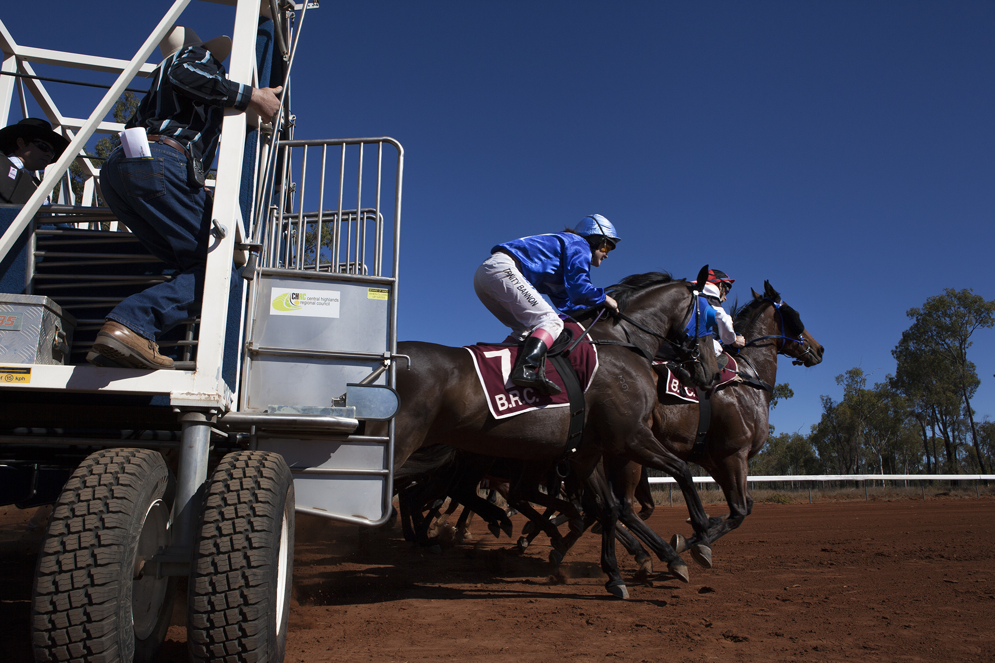 The Alpha races in outback Queensland.