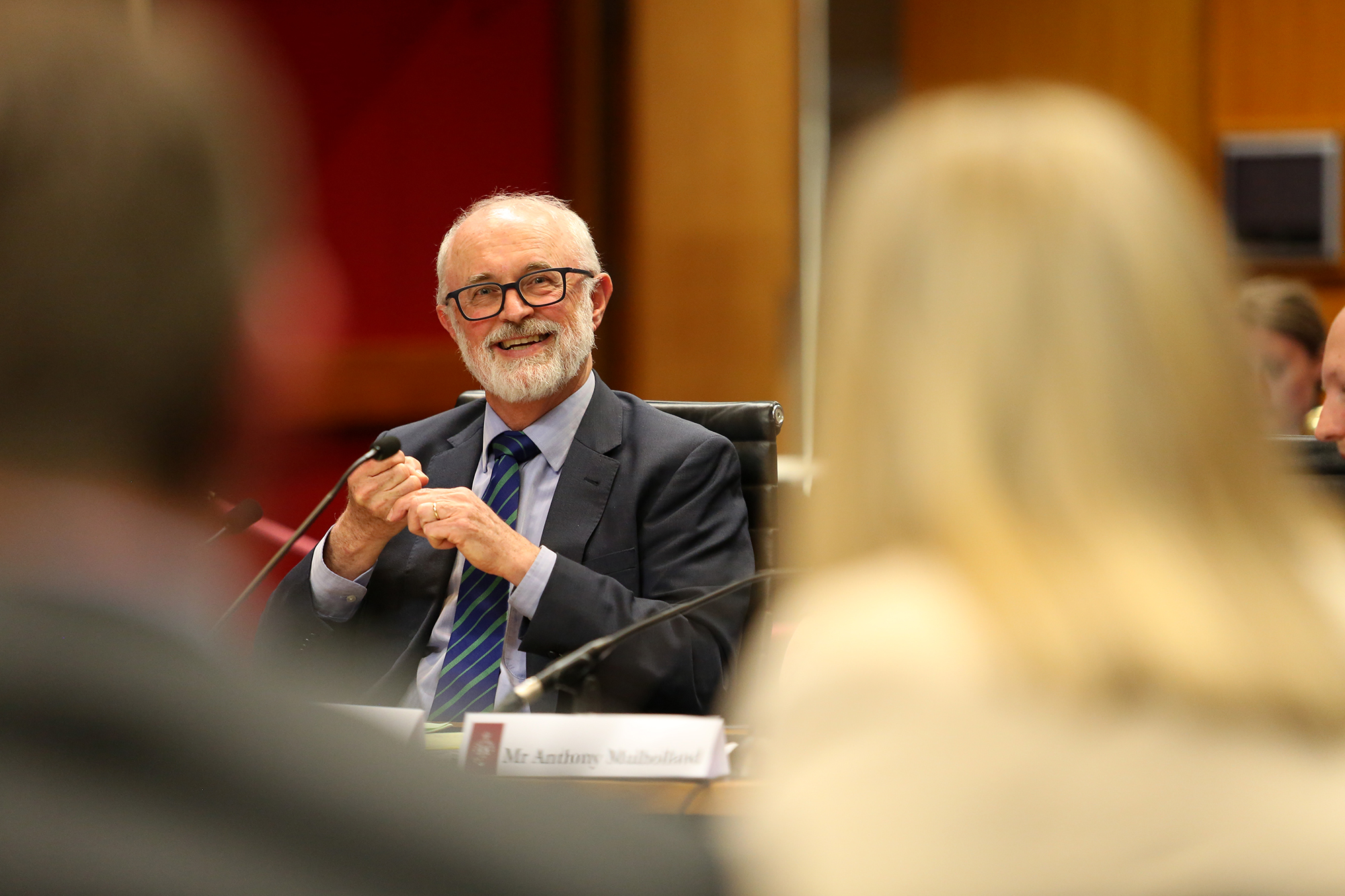 Council for Intellectual Disability Senior Advocate Jim Simpson gives evidence at the NDIS parliamentary inquiry.