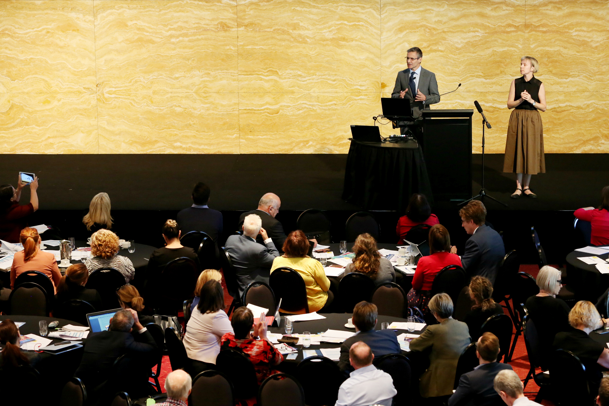 Dr Julian Trollor of UNSW  presents at a national roundtable discussing action needed to improve the mental health of people with intellectual disability.