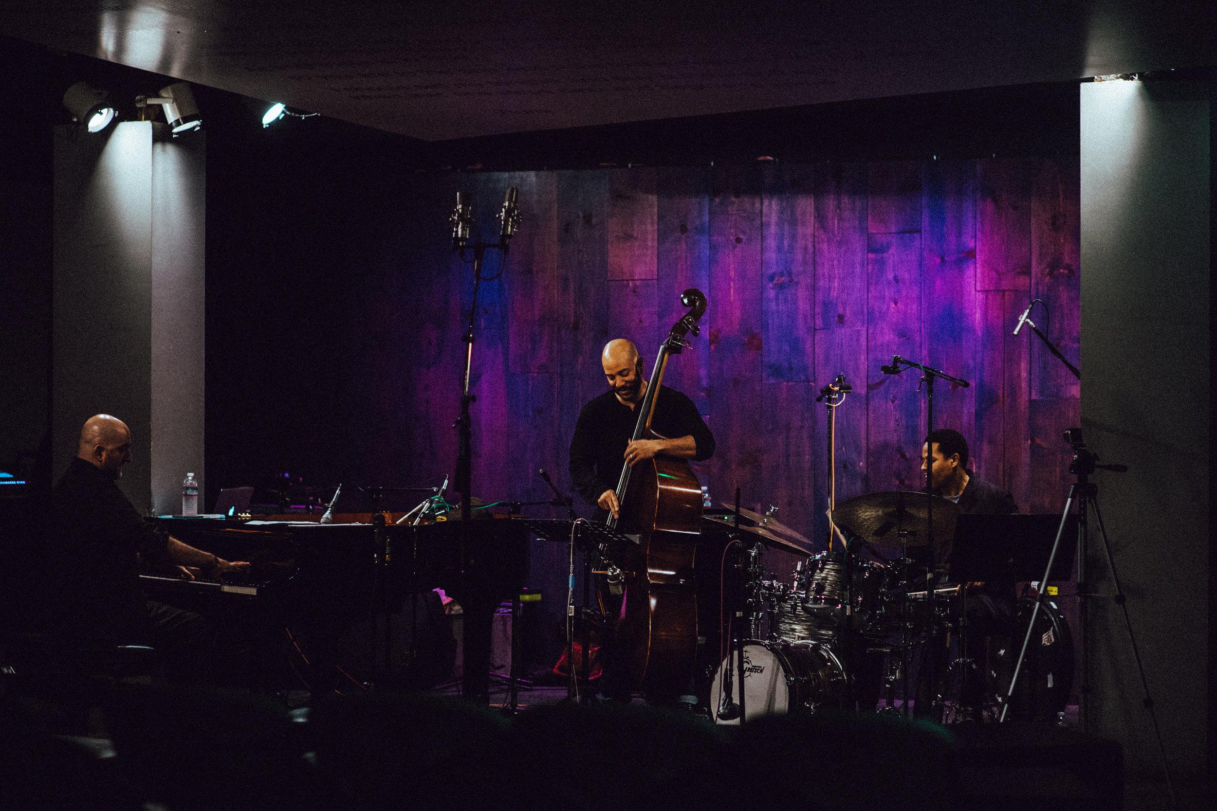 Armen Nalbandian Trio ~ Armen Nalbandian, Eric Revis, Nasheet Waits
