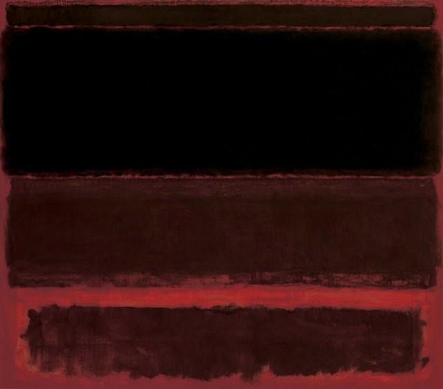 Black on Deep Red - Mark Rothko