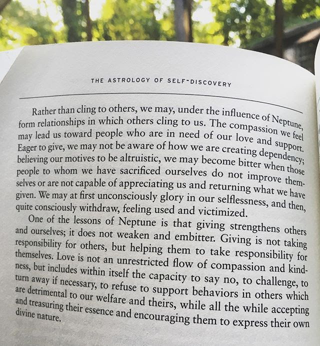 Passage from The Astrology of Self Discovery