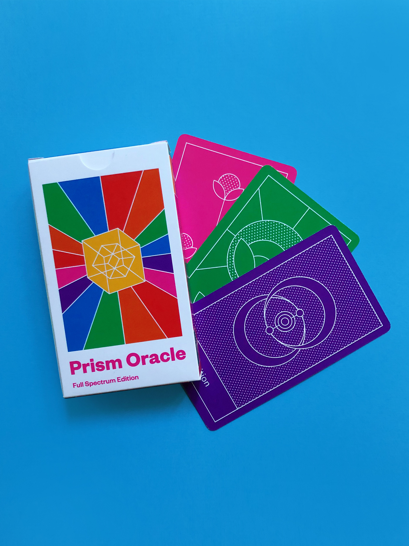 prism oracle deck, full spectrum edition, by iriseyris!
