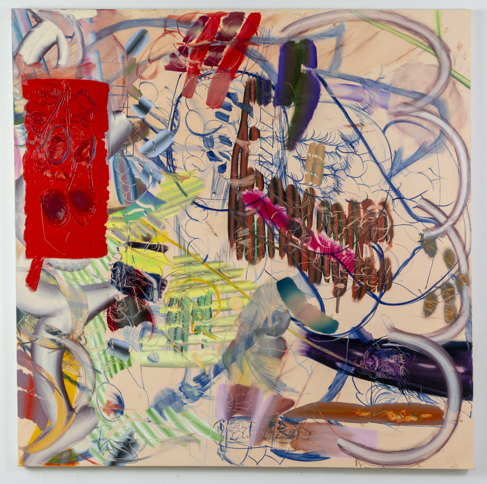 Key, 2019  oil on canvas  72 x 72 inches