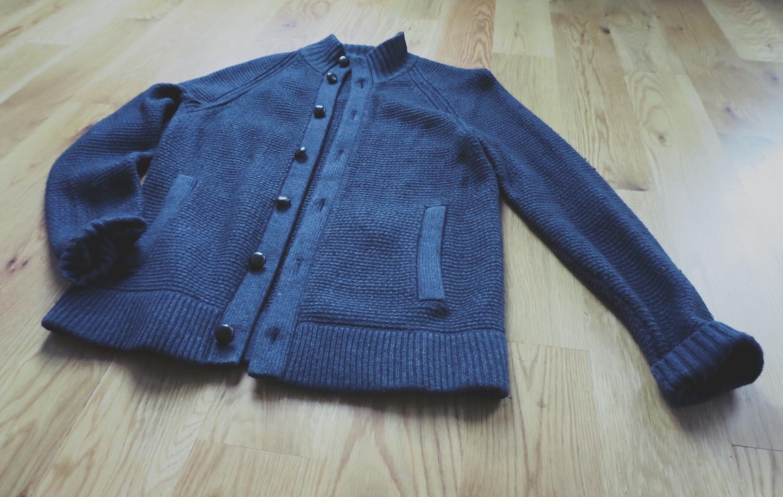 J. Crew Cardigan Sweater (Navy)