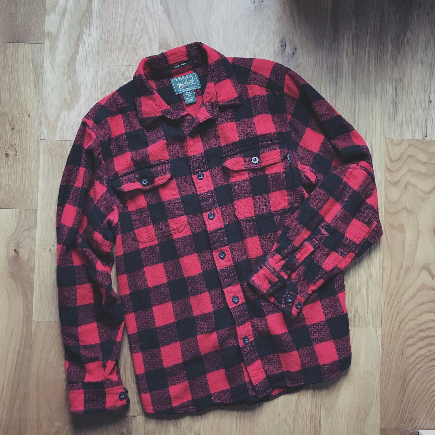 Woolrich Oxbow Bend Plaid Flannel Shirt