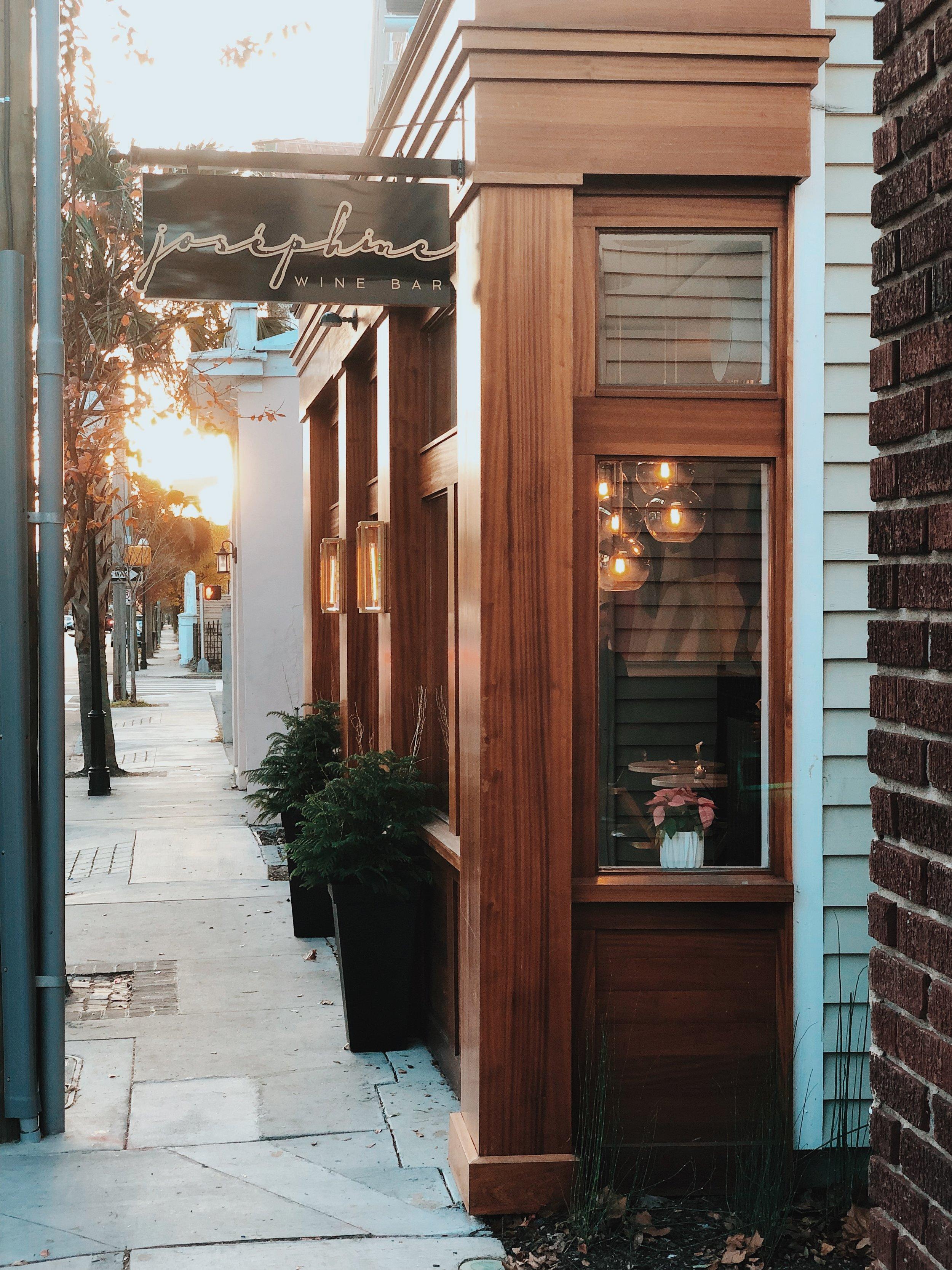 I Love That For You - Josephine Wine Bar Exterior Entrance.jpg