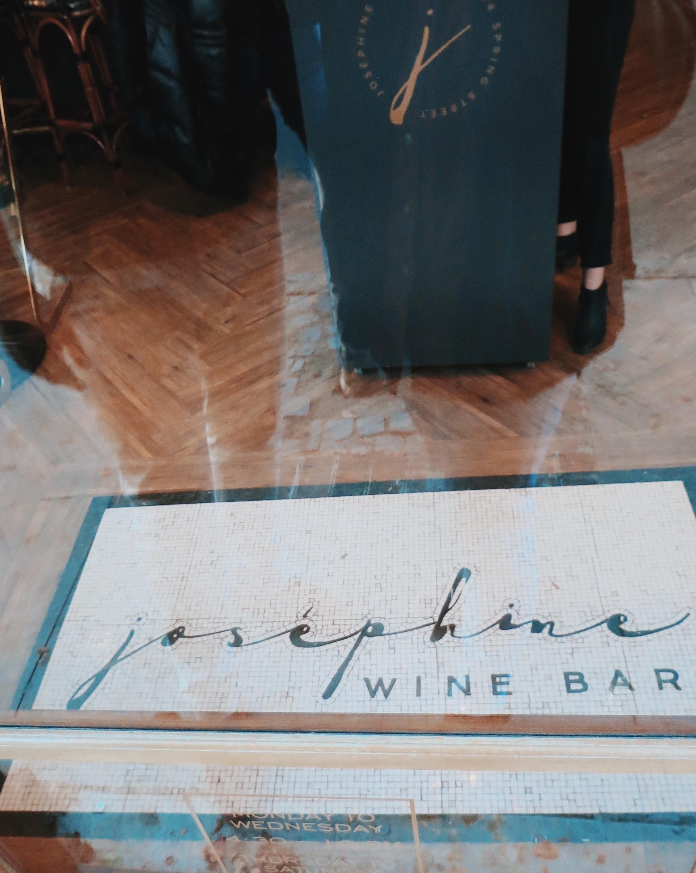I Love That For You - Josephine Wine Bar Entrance Floor.jpg