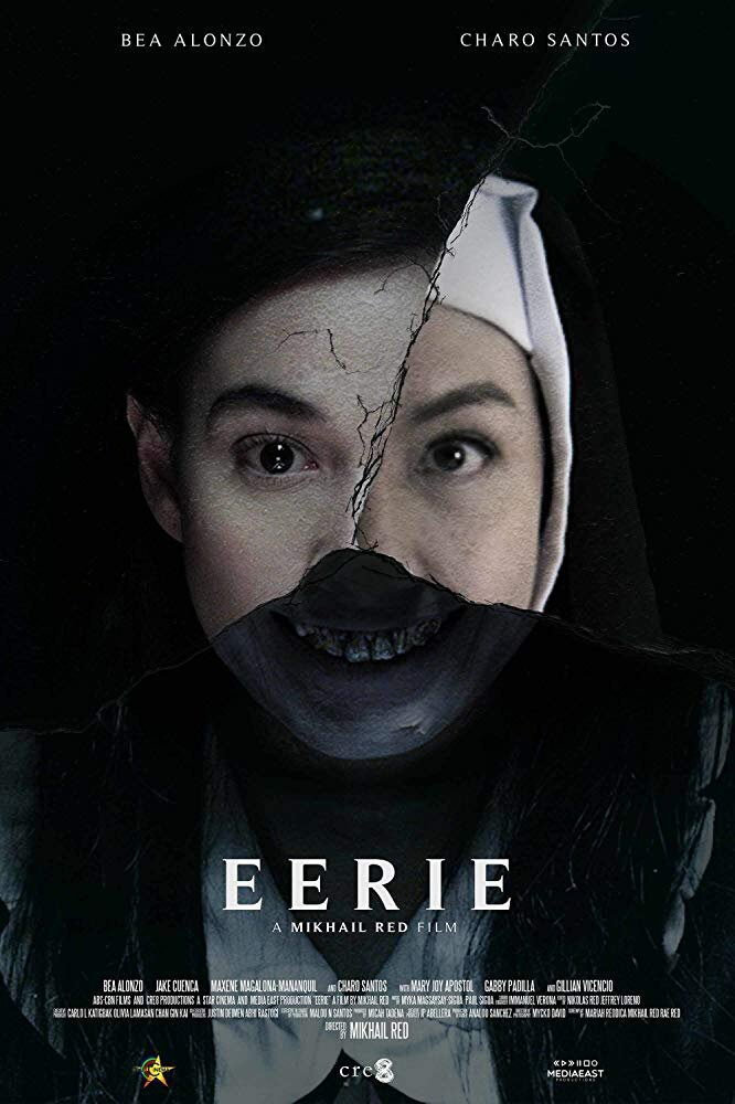 Eerie - Genre: Crime, Drama, HorrorWhen a student's suicide rattles an all-girls Catholic school, a clairvoyant counselor leans on a ghost to uncover the convent's abusive past.Why We Love This Scare: Sipping on wine whilst watching a foreign film made us feel très chic . . . until spilling our wine from jumping.Watch on Netflix