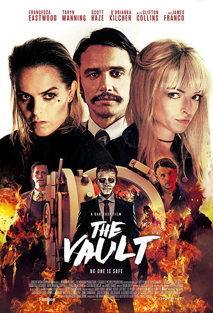 The Vault - Genre: Crime, Horror, MysteryA bank heist takes an unnerving turn when the three sibling robbers attempt to gain entrance into a subterranean vault with sinister secrets.Why We Love This Scare: Would you believe James Franco wasn't even the best part? It is a very different kind of ghost story, but full of surprises and creepiness.Watch on Netflix