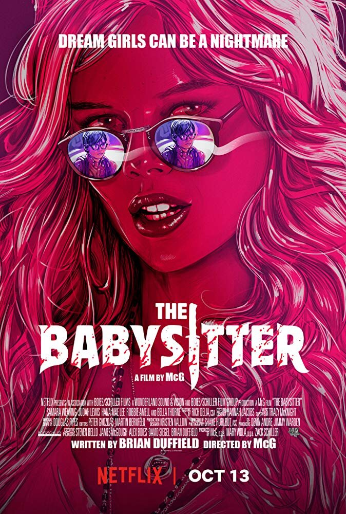 The Babysitter - Genre: Comedy, HorrorWhen Cole stays up past his bedtime, he discovers that his hot babysitter is part of a satanic cult that will stop at nothing to keep him quiet.Why We Love This Scare: Y'ALL. This is the PERFECT movie combining both comedy and horror. One minute we were guffawing and the next we we're hiding a our eyes with a pillow.Watch on Netflix