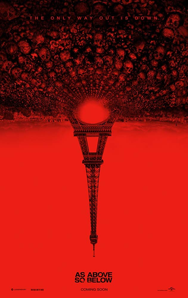 """As Above, So Below - Genre: Horror, Mystery, ThrillerA beautiful tomb raider and her crew hunt for treasure in the catacombs of Paris and find themselves in a hellish underworld.Why We Love This Scare: This is one of Ian's all-time favorite scary movies. Truly genius and the best """"found-footage"""" film in years.Watch on Netflix"""