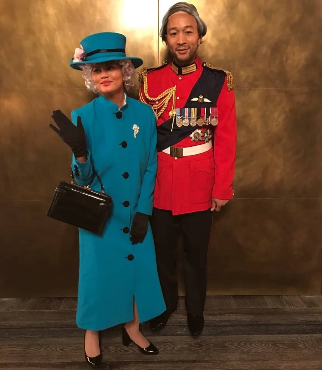 John Legend & Chrissy Tegein - This dynamic duo felt royal last year, dressing up as Queen Elizabeth and Prince Philip. Fun Fact: Season 3 of The Crown on Netflix premiers on Sunday, November 17, 2019.Instagram