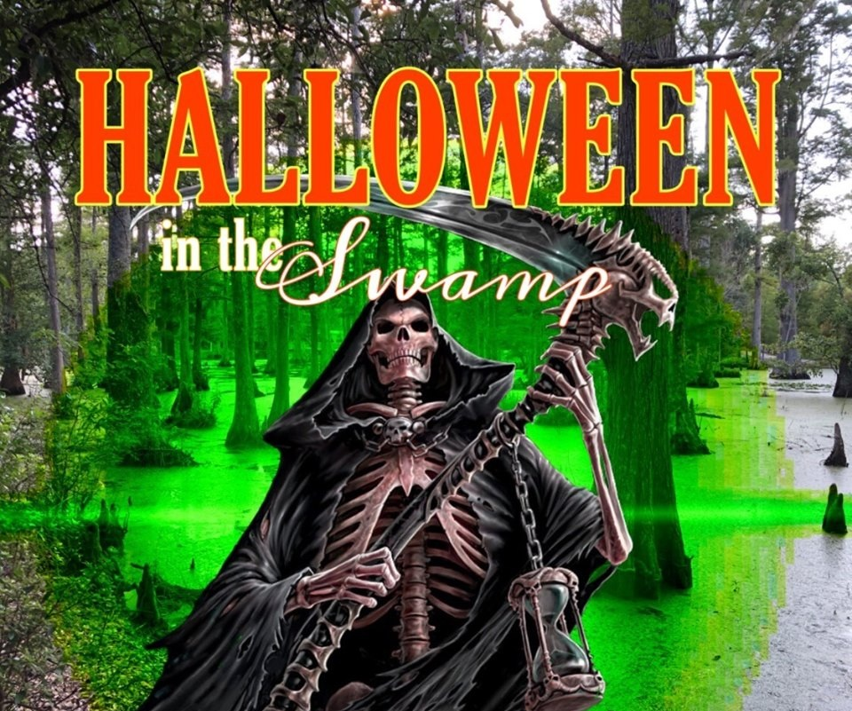 Halloween in the Swamp - What: Nothing is scarier than a swamp. Join the restless spirits on a haunted boat ride and walking trail for $15 at Cypress Gardens.Details: October 25 at 3030 Cypress Gardens Rd, Moncks Corner, SC 29461.