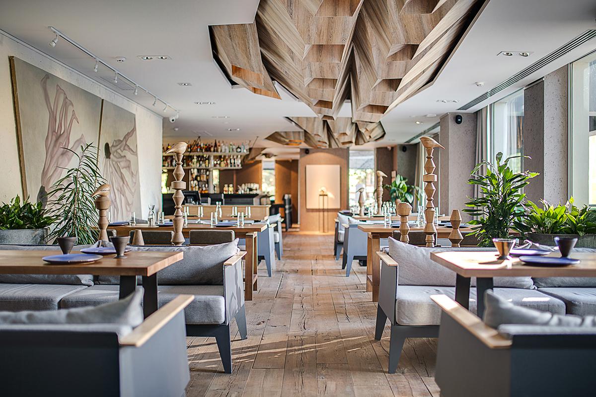 BARVY  / restaurant bar, 580 sq.m, Kyiv  The Restaurant & Bar Design Awards  Award:  Shortlisted. Top 10  | Year: 2017
