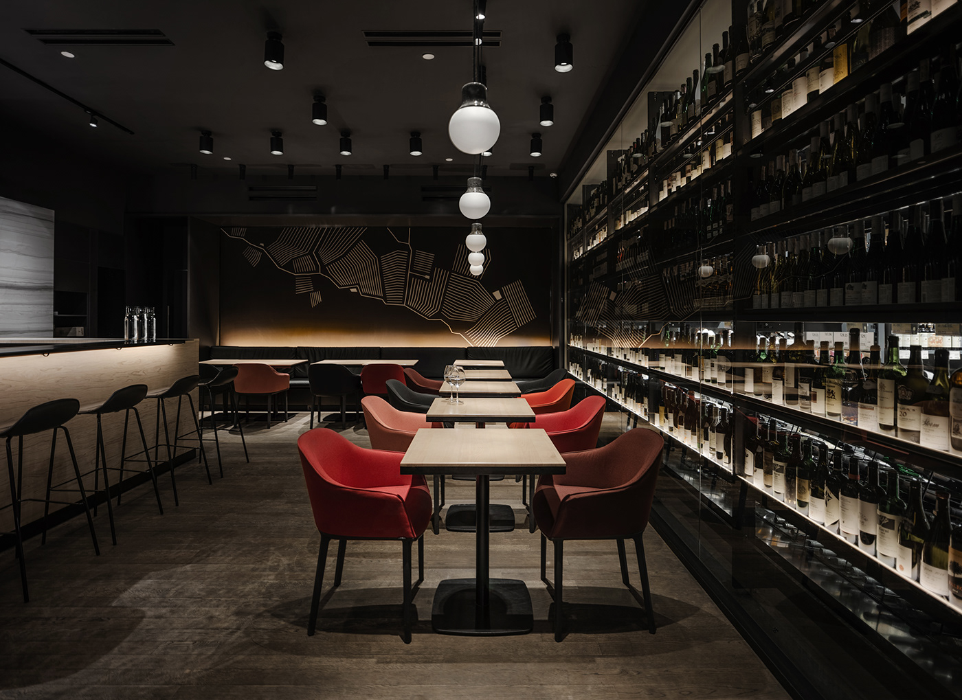 101 BAR  / wine restaurant, 40 sq. m, Kyiv