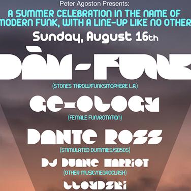 Dam-Funk   Live Performance Brooklyn, NY
