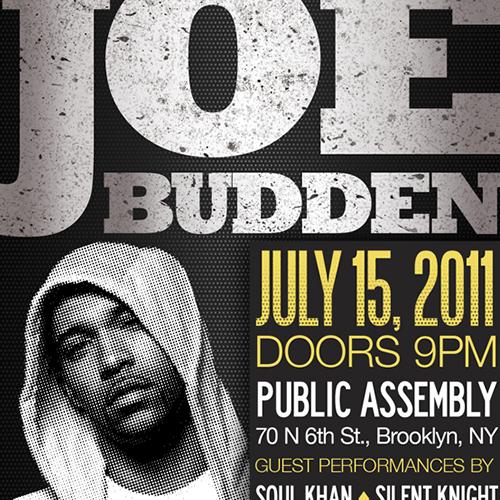 Joe Budden   Public Assembly Brooklyn, NY