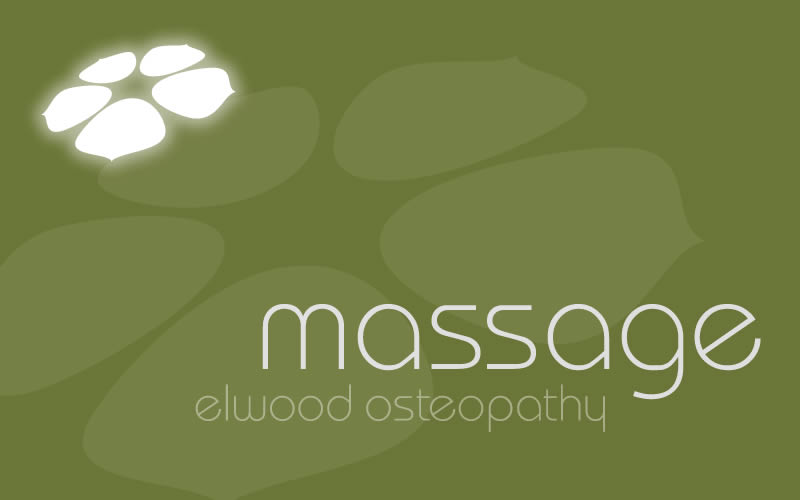 Elwood Osteopathy Massage Logo