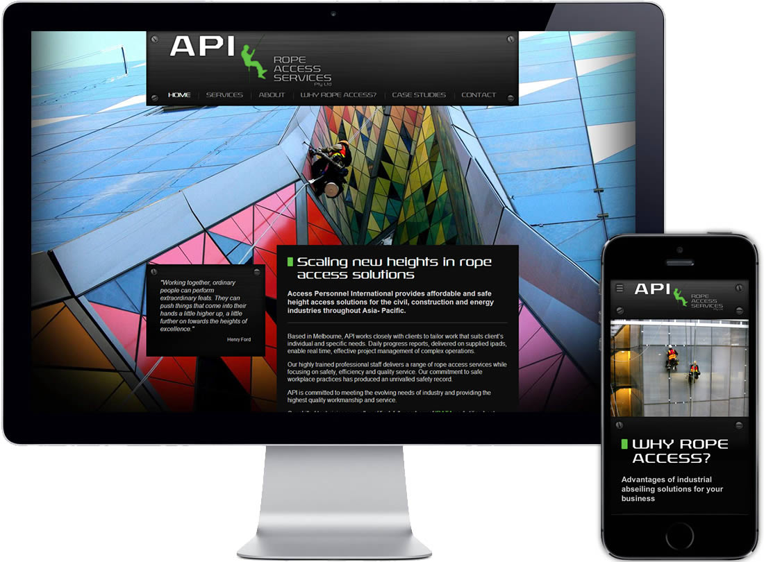 API Access Personnel International Website