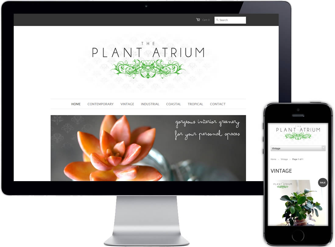 The Plant Atrium Website